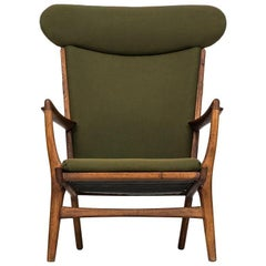Easy Chair Model AP-15 Designed by Hans Wegner Produced by AP-Stolen in Denmark