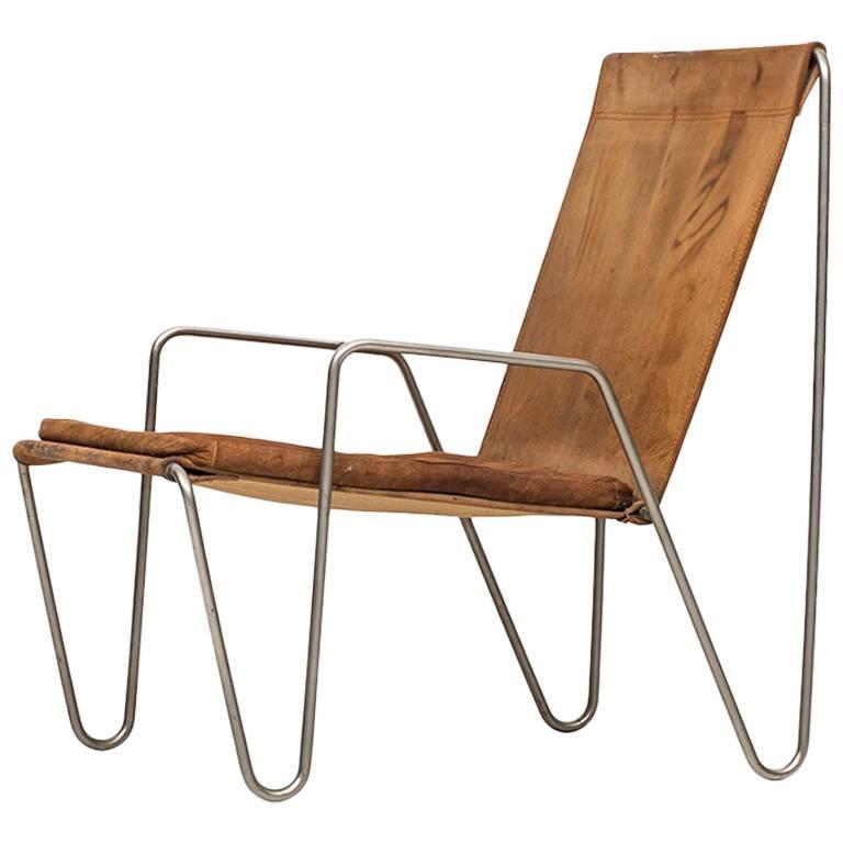Easy Chair Model Bachelor by Verner Panton Produced by Fritz Hansen in Denmark