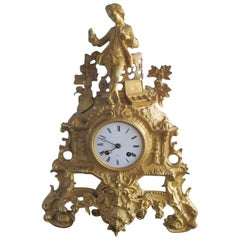 Henry Marc Mantel Clock from 1850