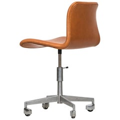 High Adjustable Office Chair Probably Produced in Denmark