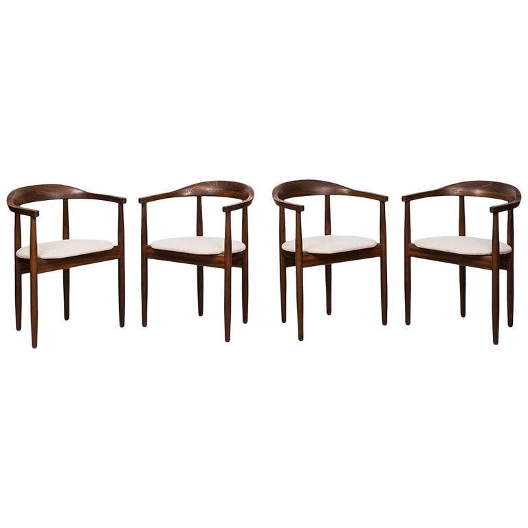 Armchairs Designed by Bondo Gravesen Produced by Bondo Gravesen in Denmark
