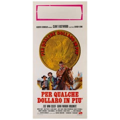 """Per Qualche Dollaro in Piu"" Original Italian Film Poster"