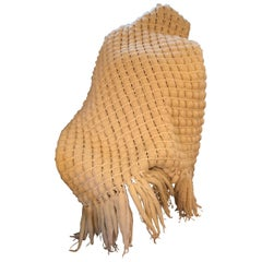 "Italian Merino Wool ""Pavia"" Throw"