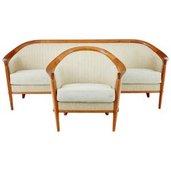 1960s Swedish Andersson Teak Two-Piece Suite