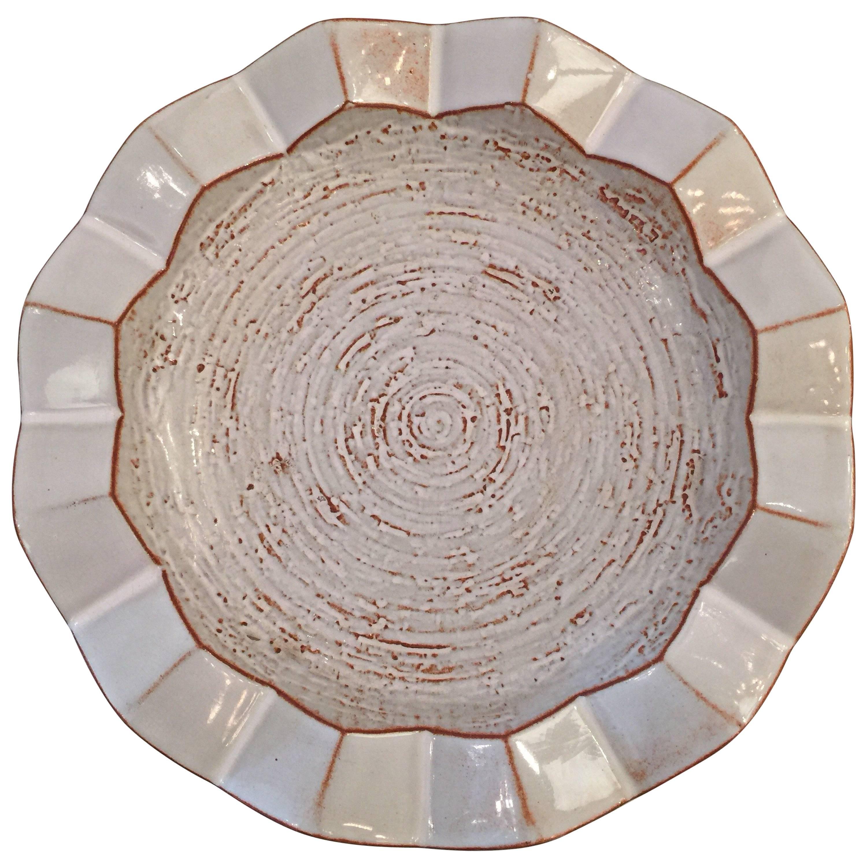 Design Technics Zig Zag Ceramic Bowl/ Cigar Ashtray