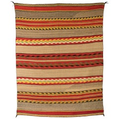 Vintage Navajo Transitional Blanket, 19th Century