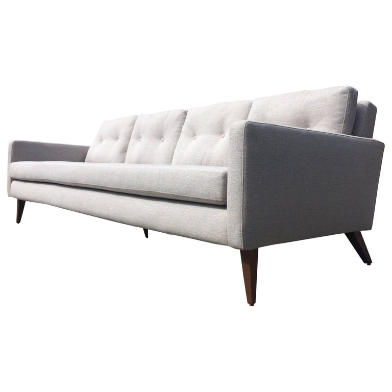 Mid-Century Modern Sofa in the Style of Paul McCobb, USA, 1950s For Sale