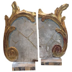 Pair of French Fragments from the 18th Century