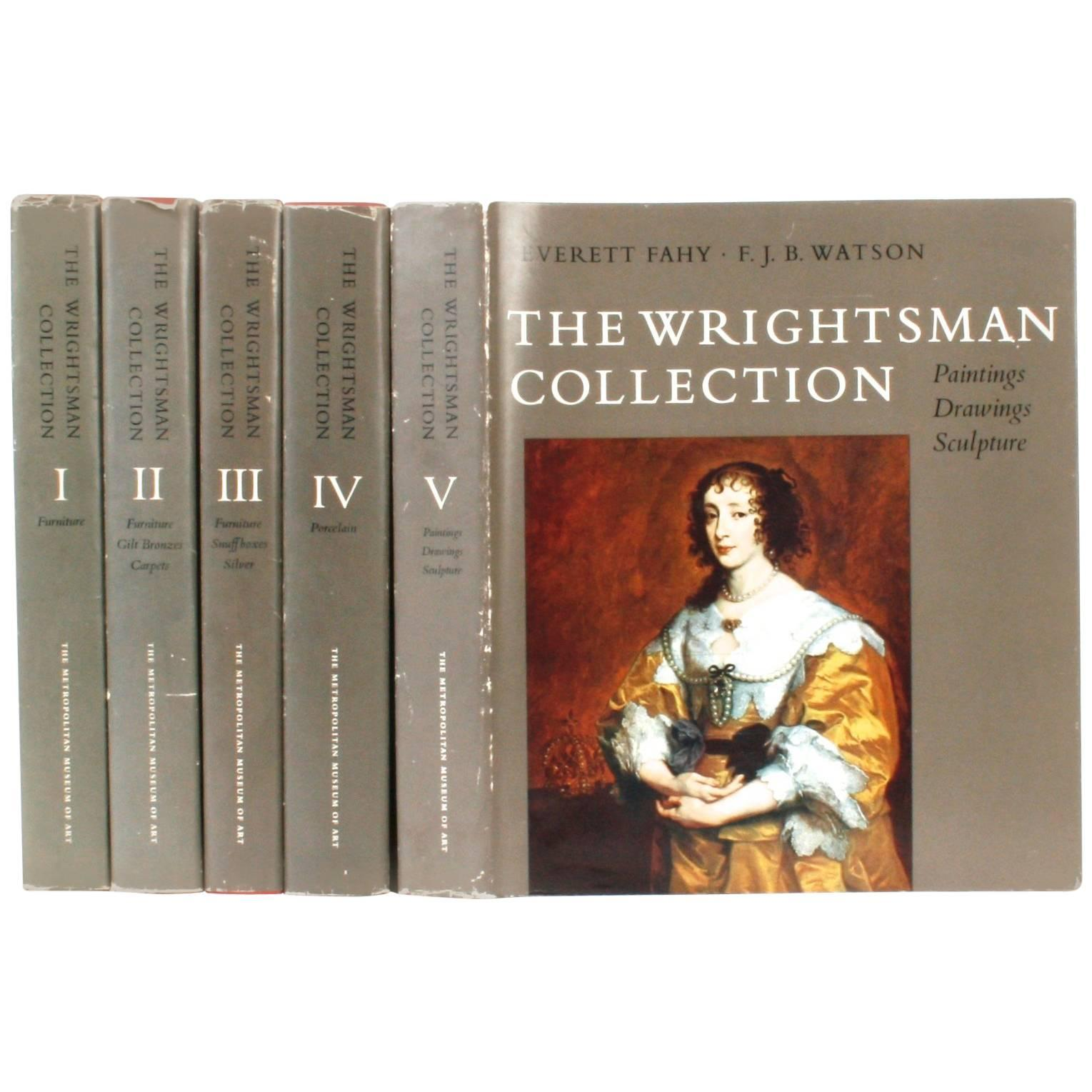 Wrightsman Collection, Vols I-V, First Editions, Signed by the Wrightsmans