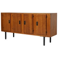 Oak Sideboard by Jean Touret