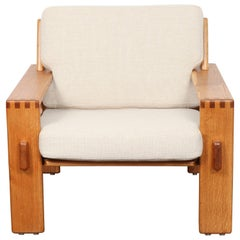 Finnish Beech Lounge Chair by Ekso Pajamies