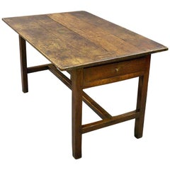 18th Century English Oak Farmhouse Table