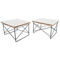 Pair of Charles and Ray Eames LTR Table by Herman Miller