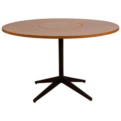 Vintage Lazy Susan Dining Table by George Nelson for Herman Miller