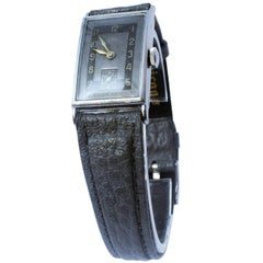 Art Deco 1930s Men's Watch by Nisus