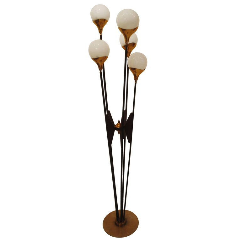 1950s Stilnovo Floor Lamp, Italy
