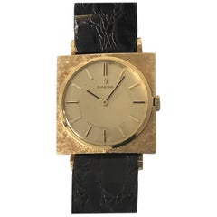 Omega Textured Gold Dress Watch