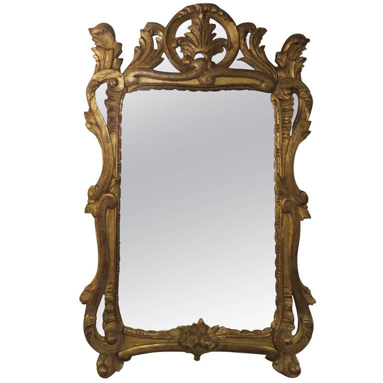 19th Century Gilt Framed, French Mirror