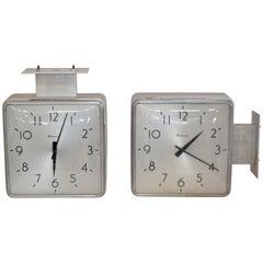 Simplex Double-Sided Clocks