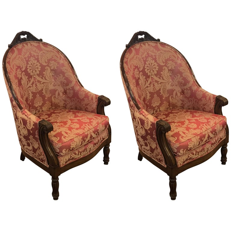 Pair of Early 19th Century French Upholstered Chairs