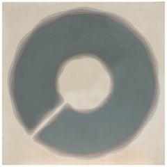 Nobumitsu 'Nobu' Fukui 1967 Large Abstract Painting