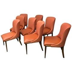 Set of New Eight Harris Chairs by Quintus