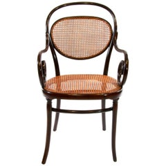 Antique Thonet Bentwood Armchair Fauteuil No. 11