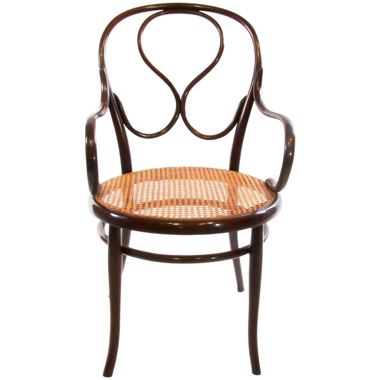 Antique Thonet Bentwood Armchair Fauteuil No. 20, circa 1900