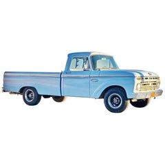1966 F100 Custom Cab Pick Up Truck