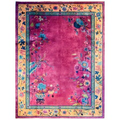 Brilliant Chinese Art Deco Rug