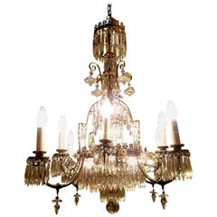 Best Quality Neoclassical Style Chandelier in Crystal and Bronze