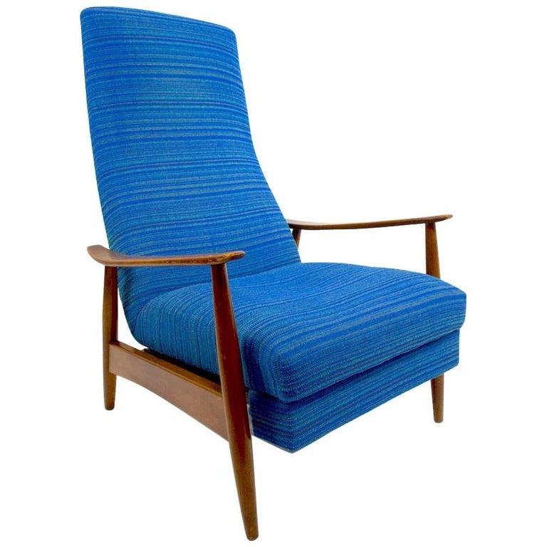 Baughman for James Inc. Recliner Lounge Chair