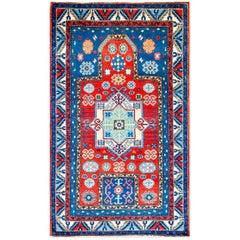 Early 20th Century Kazak Prayer Rug