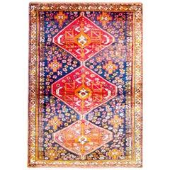 Wonderful Mid-20th Century Shiraz Rug