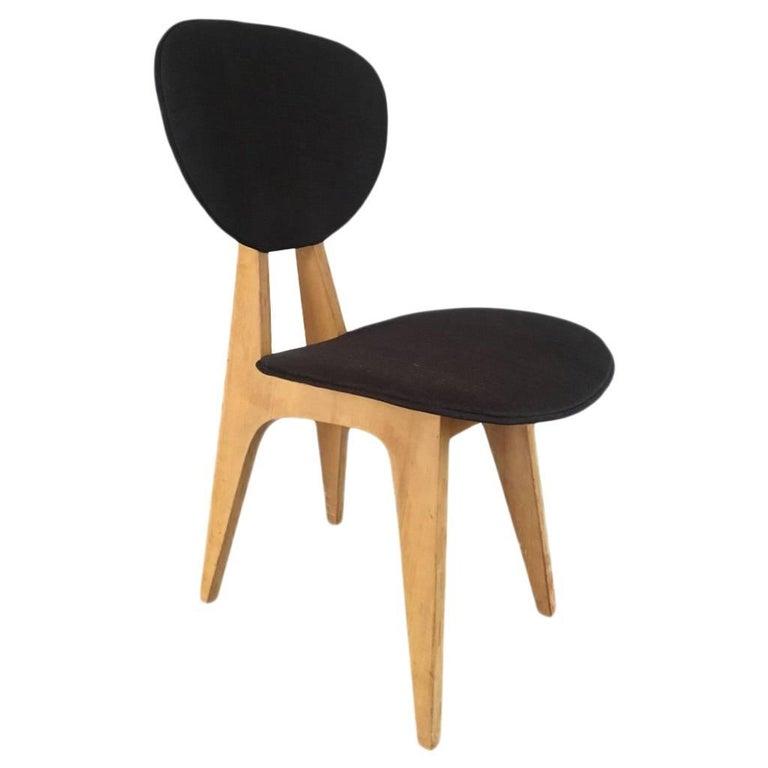 Vintage Side Chair by Japanese Architect Junzo Sakakura for Tendo Mokko