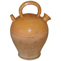 19th Century French Glazed Cruche