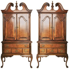 Pair of Gorgeous Chippendale Cabinets