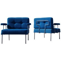 Pair of 'Revolt' Chairs by Poul Cadovius for France and Son, 'Denmark'