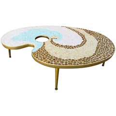 Mosaic Tile Coffee Table Artist Palette