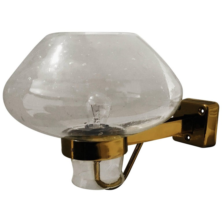Large Swedish Wall Light by Gunnar Asplund for ASEA For Sale