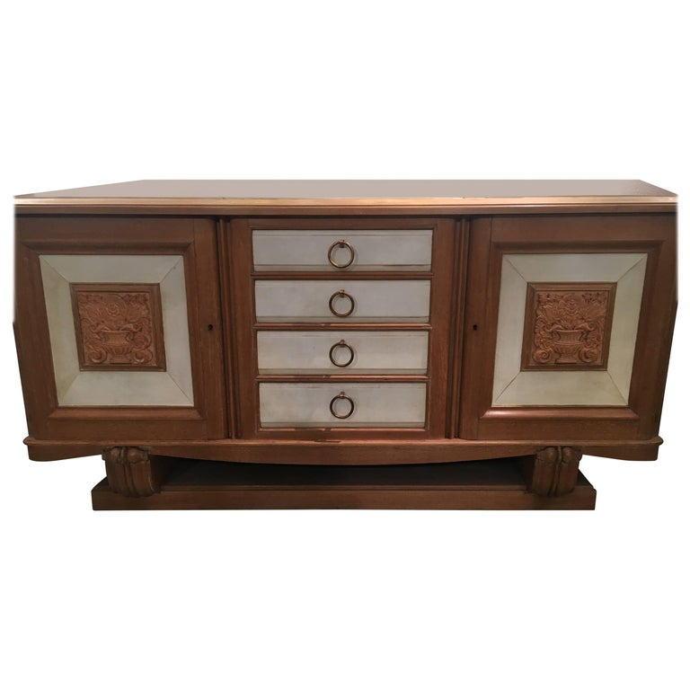 André Arbus Console Sideboard, 1940