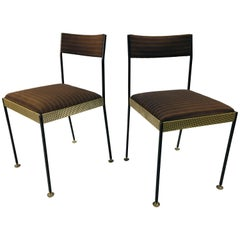Australian Midcentury Pair Side Chairs by Wood Williams, Melbourne, circa 1960s