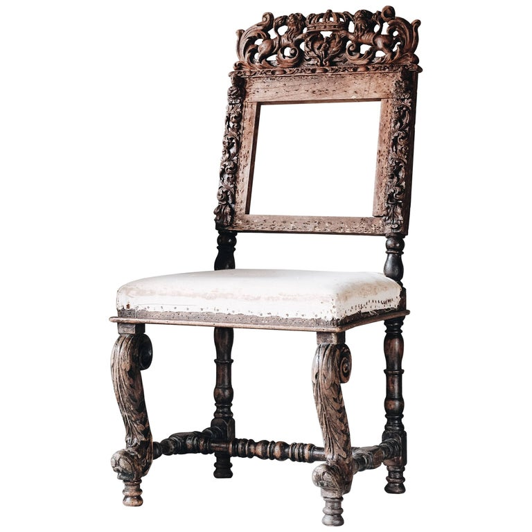 17th Century Baroque Chair