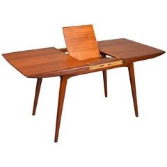 Extendable Teak Dining Table by Louis Van Teeffelen, circa 1960