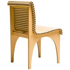 Carta Chair Designed by Shigeru Ban for Cappellini
