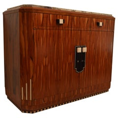 Art Deco Cabinet, in the Style of Christian Krass, France, 1930s
