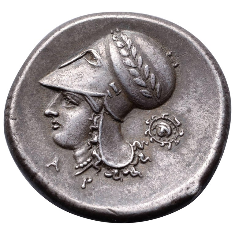 Ancient Greek Silver Stater from Corinth, 345 BC