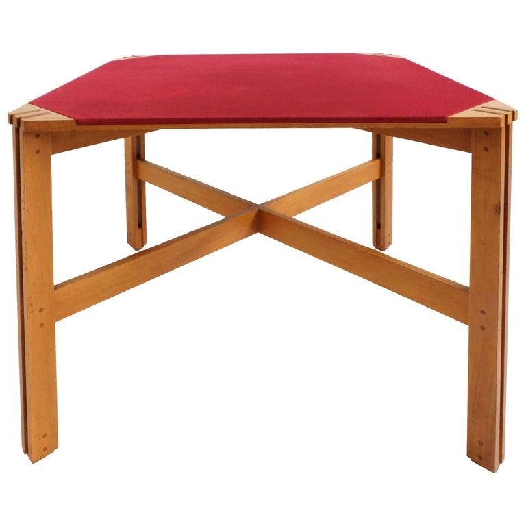 Ico Parisi Rare Square Table Mod. 753/2, Italy, 1962