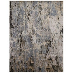 Modern Abstract Handwoven Rug - FREE SHIPPING