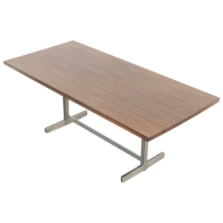 Exclusive Wenge Dining Table by Jules Wabbes for Mobilier Universel